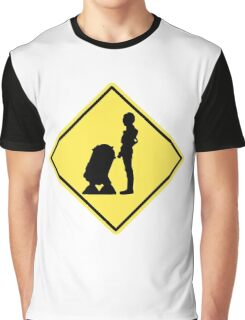 Droid Crossing Graphic T-Shirt