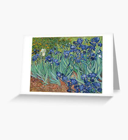 Irises by Vincent van Gogh Greeting Card