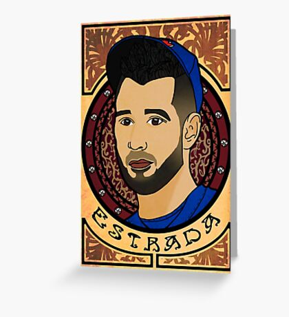 Marco Estrada - Art Nouveau Greeting Card
