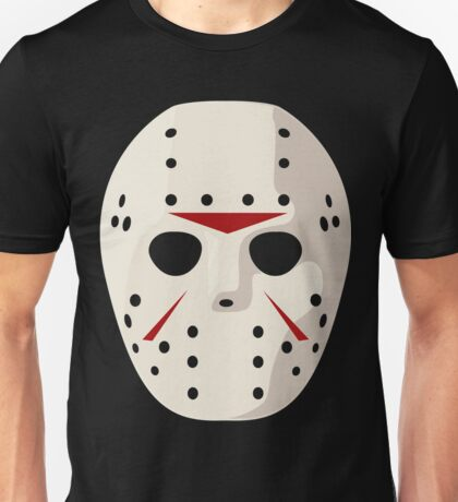 Jason Voorhees Mask / Friday the 13th Unisex T-Shirt