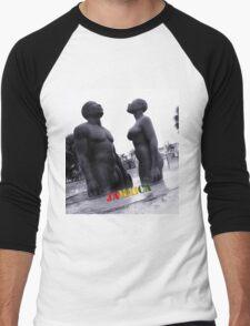 Kingston Sculpture Men's Baseball ¾ T-Shirt