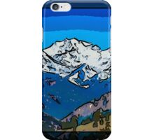 Mount Gardner Close Up iPhone Case/Skin