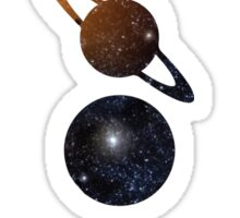 Galaxy Planets Sticker