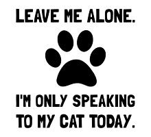 Alone Speaking Cat by TheBestStore