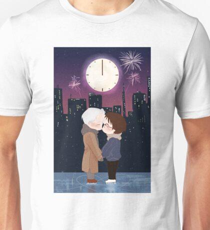 Happy New Year Victuuri Unisex T-Shirt
