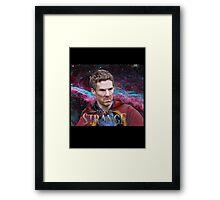 Doctor Strange Is Majestic  Framed Print