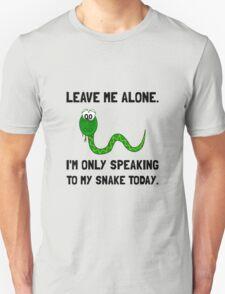 Alone Speaking Snake Unisex T-Shirt
