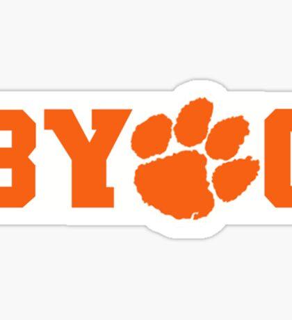 Bring Your Own Guts Clemson Tigers Sticker