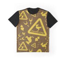 Chocobo print Graphic T-Shirt