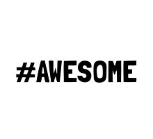 Hashtag Awesome by TheBestStore