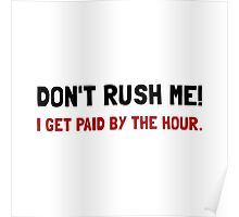 Paid By The Hour Poster