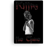 Buffy Killing the Game Canvas Print