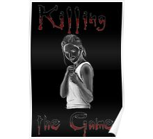Buffy Killing the Game Poster