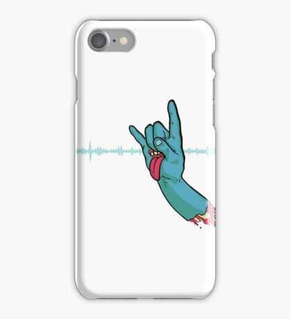 Rock On Metal Hand iPhone Case/Skin