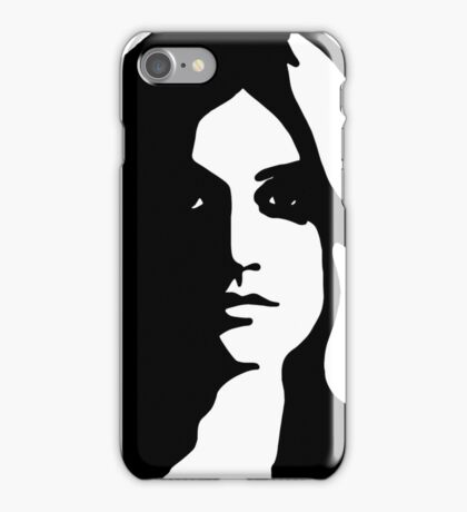 Clary Fairchild silhouette iPhone Case/Skin