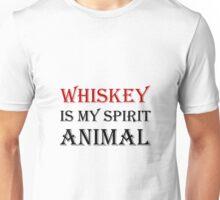 Whiskey Spirit Animal Unisex T-Shirt