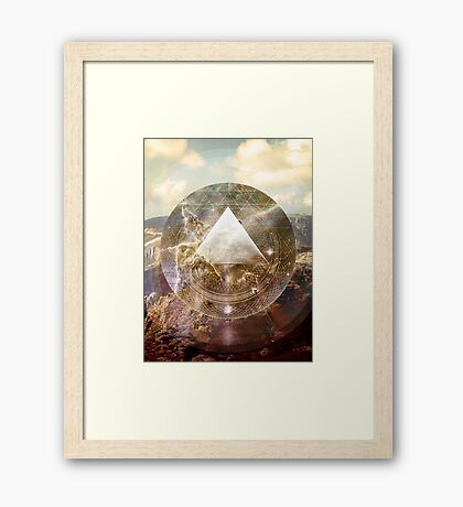 Pyramid Power Framed Print