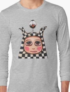The Harlequin girl & crow Long Sleeve T-Shirt
