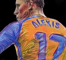 Alexis Sanchez by ArsenalArtz
