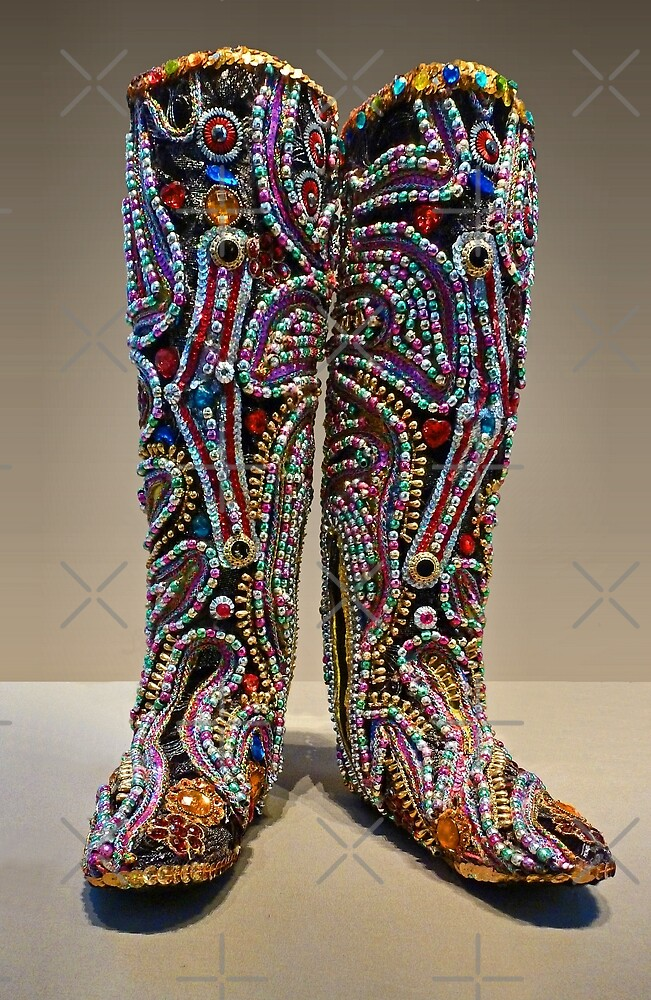 Spangle Boots by Yampimon