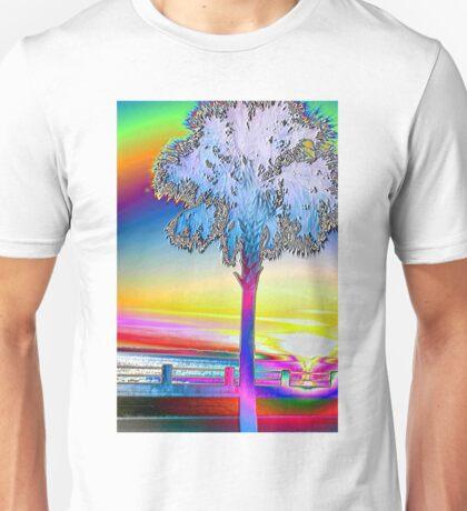 Charleston Sunset on the Ashley River Unisex T-Shirt