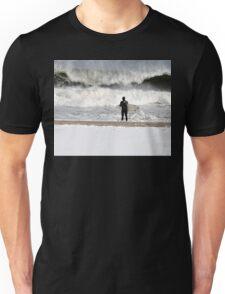 Winter Surfer Unisex T-Shirt
