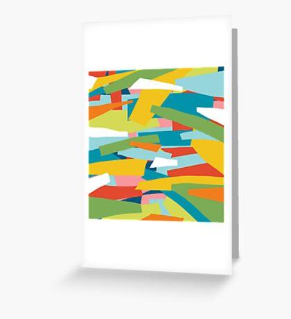 Broken Landscape One Greeting Card