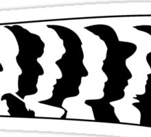 Every Doctors Silhouette  Sticker