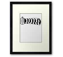 Every Doctors Silhouette  Framed Print