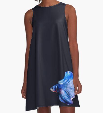 Boot - My Beta Fish A-Line Dress