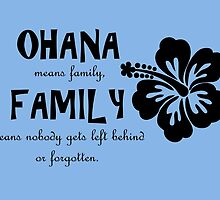 Ohana by Rhiannon Coales