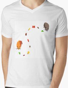 Hamster trail  Mens V-Neck T-Shirt