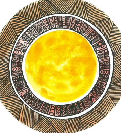 Shades of the Sun Sticker
