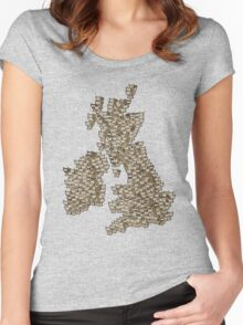 CATography- UK & Ireland Women's Fitted Scoop T-Shirt