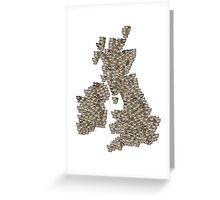 CATography- UK & Ireland Greeting Card