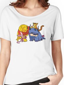 Naga the Poohlar Bear Dog & Friends Women's Relaxed Fit T-Shirt