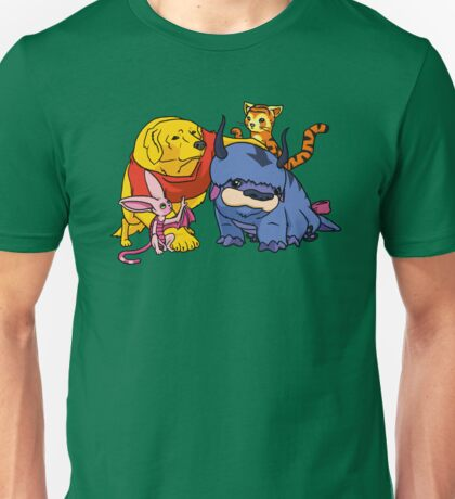Naga the Poohlar Bear Dog & Friends Unisex T-Shirt