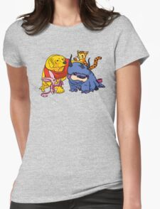 Naga the Poohlar Bear Dog & Friends Womens Fitted T-Shirt