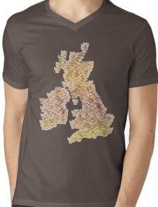 CATography- UK & Ireland (colour) Mens V-Neck T-Shirt
