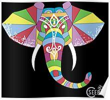 Geo-Elephant  Poster