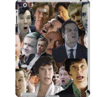 Sherlock Collage iPad Case/Skin