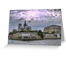 On the River Seine (4) Greeting Card