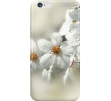 Blooming White iPhone Case/Skin