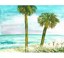 Deserted Island Photographic Print
