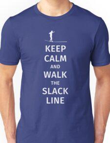 Keep Calm and Walk the Slackline Unisex T-Shirt
