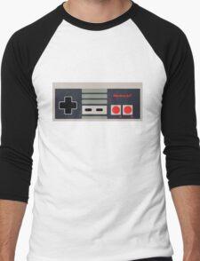 Nintendo NES Controller Sticker Men's Baseball ¾ T-Shirt
