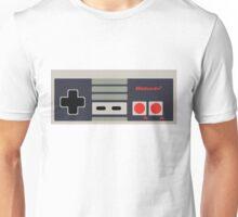 Nintendo NES Controller Sticker Unisex T-Shirt
