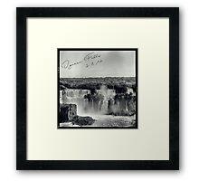 Argentina - Memories Framed Print