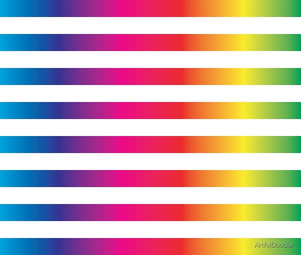 art and  gradient strip