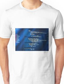 HTML and CSS code developing Unisex T-Shirt